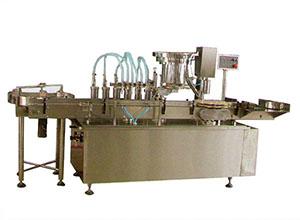 GX型液体灌装旋轧盖一体机