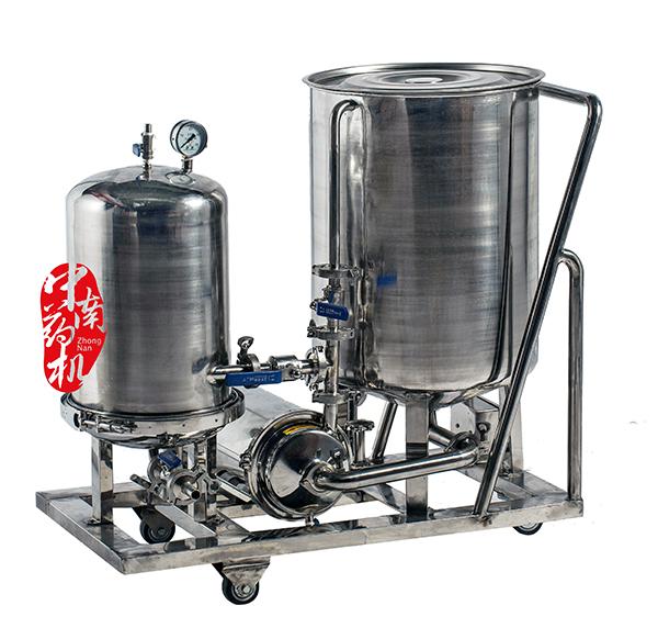 GL-0.4型移动式口服液过滤机